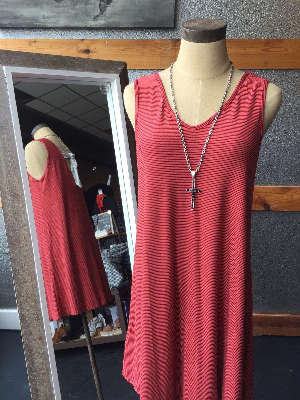 AAC- Sleeveless V-Neck Dress