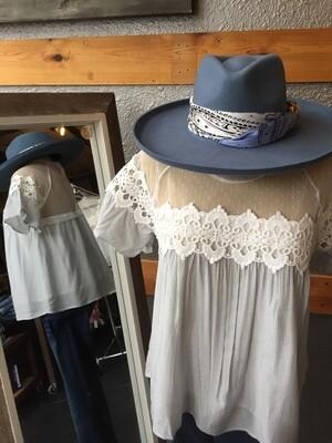 AAC- Skylar - wool felt lined hat with scarf