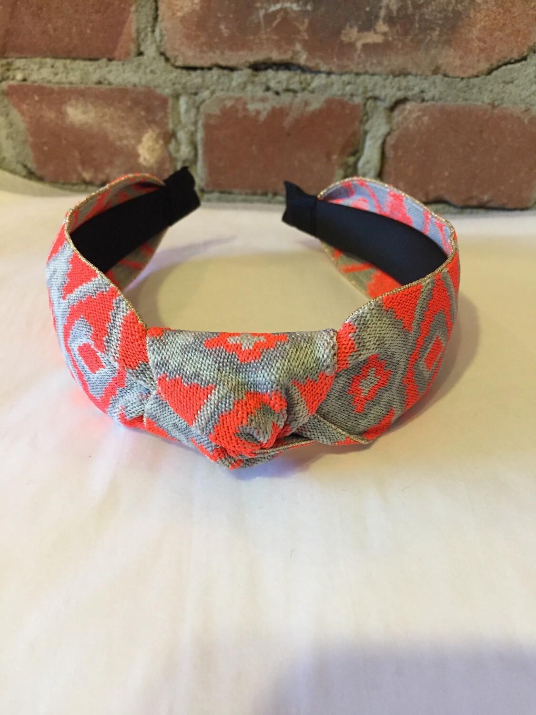 AAC- Knotted Pattern Headband