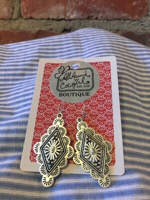 AAC-$15.00 Concho Earrings