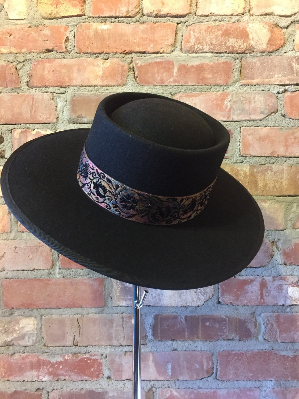 "AAC - ""Fancy Mina""-Wool Black Hat by Olive & Pique"