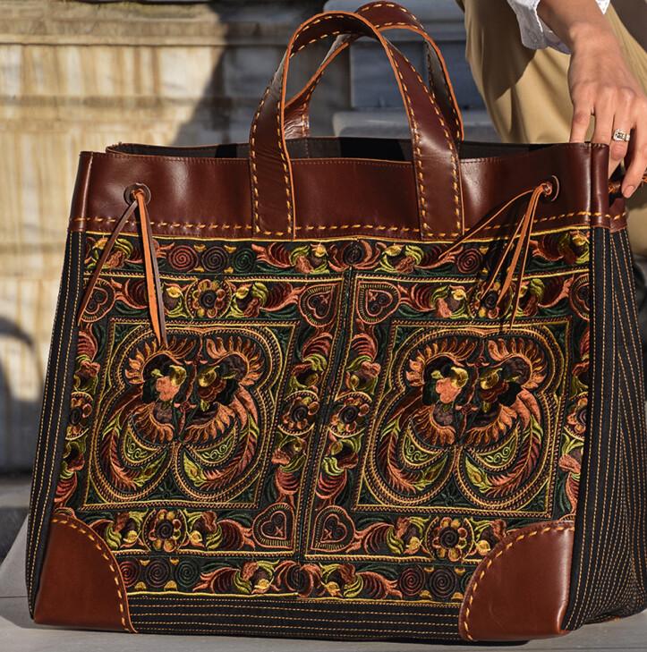 """AAC - Phoenix """"Amber""""  Pranee Artisan Bag"""