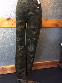 AAC - Camo Distressed Skinny - Judy Blue