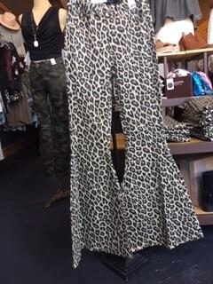 AAC - Leopard High Waist Super Flare - Plus