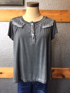 AAC - $46.99 My Favorite Color of Charcoal Top
