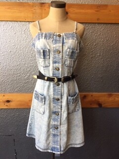 AAC - $63.99 Denim Cami Dress - POL