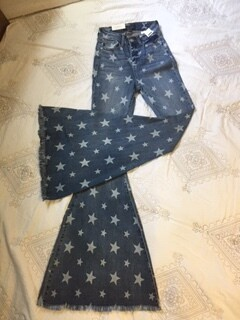 AAC - A Star Is Born Super Flare Jeans