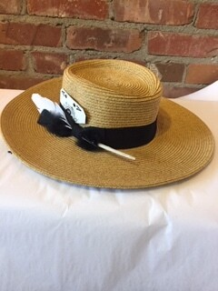 AAC - Straw Gambler Style Hat
