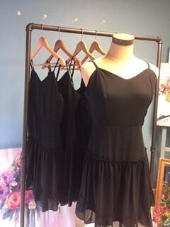 AAC - Cami Dress with Ruffled Bottom