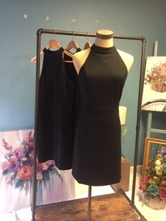 AAC - Halter Bodycon Knit Dress