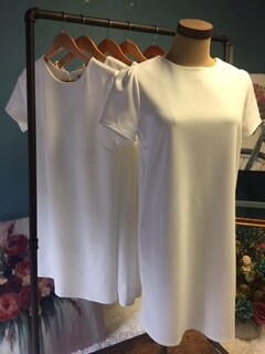 AAC - Short Sleeve Heavy Knit Shift Dress