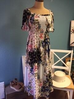 AAC - Floral Mix Midi Dress
