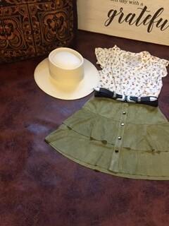AAC - Tiered Layer Mini Skirt