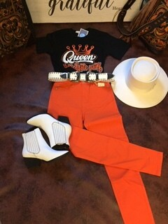 AAC - Orange Skinny Jean