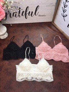 AAC - Pull Over  Lace Bralette