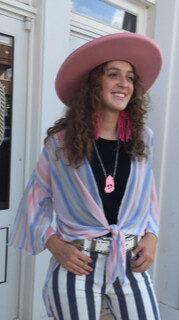 AAC - Pink Attitude Kimono