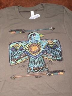 AAC - Blue Thunderbird - T- Shirt