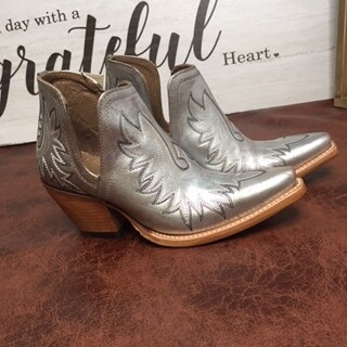 AAC - Ariat - Dixon Silver Metalic Color - Bootie