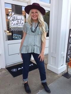 AAC - Judy Blue Handsand Skinny Jeans