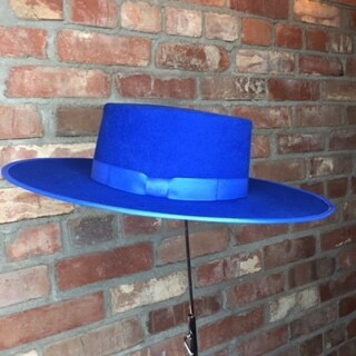 AAC - Royal Blue Gambler Style Hat