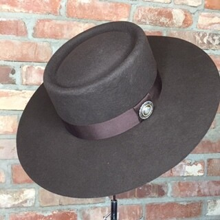 AAC - Brown Gambler Style Hat