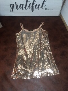 AAC - Sparkle and Shine in Rose Gold Sequins