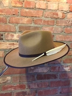 AAC - Light Brown Rancher Style Hat