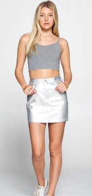 AAC - Space Cowgirl - Silver Skirt