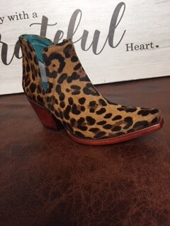 AAC - Ariat Bootie - Leopard Hair On - Dixon Style