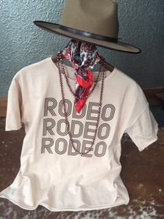 AAC -  Rodeo Rodeo Rodeo - Tee Shirt