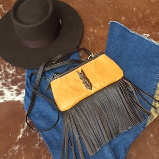 AAC - Fringed Little Clutch