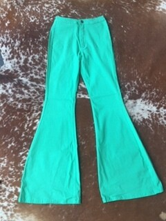 AAC - Add Some Mint - Bell Bottom Pants