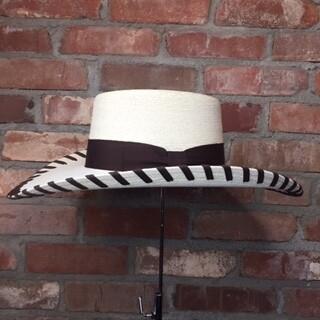 AAC -  The Stillwater - Fine White Palm Hat - BRWN