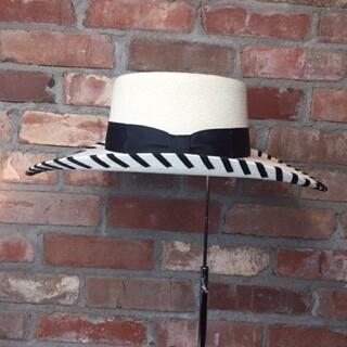 AAC - The Stillwater - Fine Palm Hat - Black Trim
