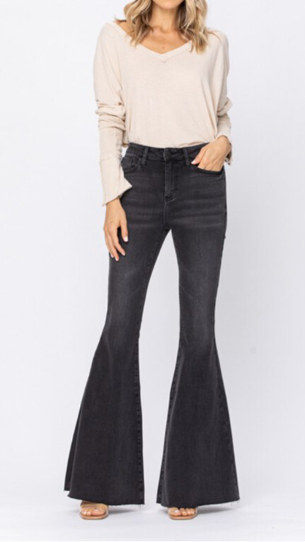 AAC - Midnight Rodeo Jeans - High Rise Flare by JB