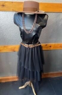 AAC - Tulle Skirt - Asymetrical Hemline