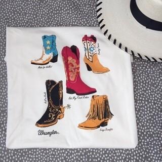 AAC - Wrangler Boot Scootin Boogie - Tee Shirt