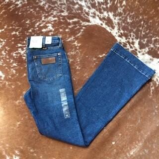 """AAC - Wrangler """"Green Jean"""" 5 Pocket Trouser Jean"""