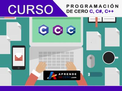 Curso Programación C, C#, C++ - Aprende de Cero