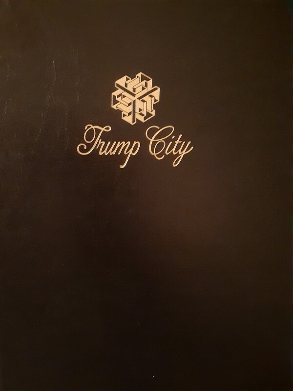 TRUMP CITY PROSPECTUS AND ORGINAL  PLANS, PRE-ORDER NOW, SHIPS MAY 10, 2021
