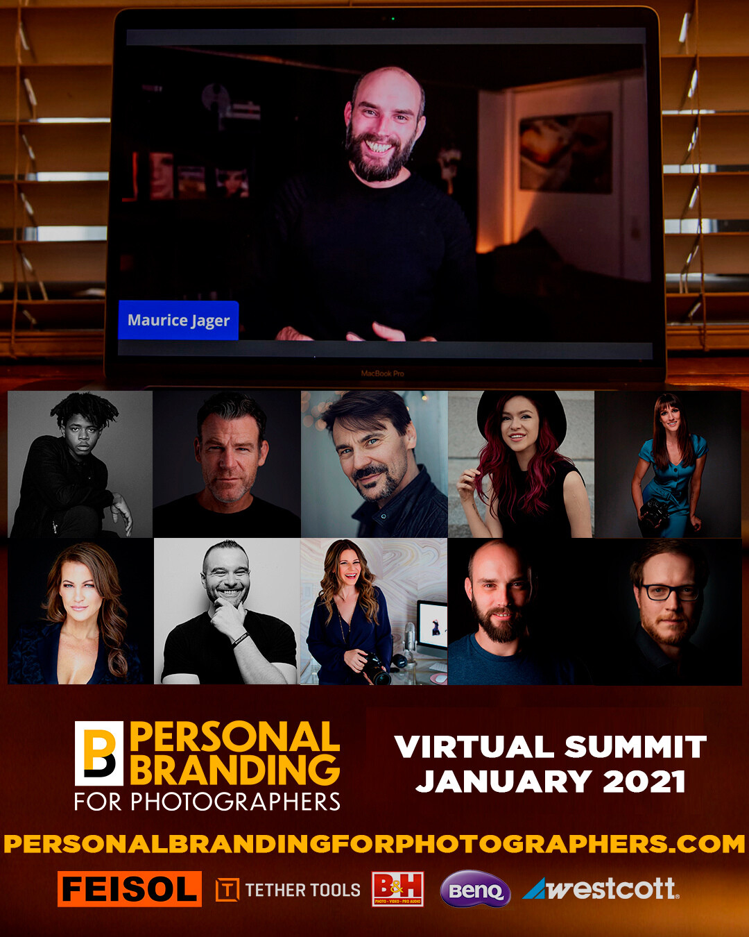 Personal Branding for Photographers virtual summit January 2021