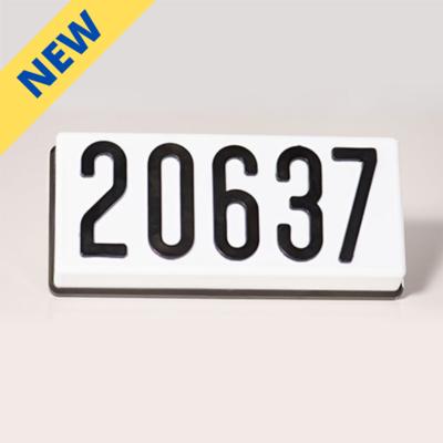 PLHN4LED - LED Complete Address Sign - 4