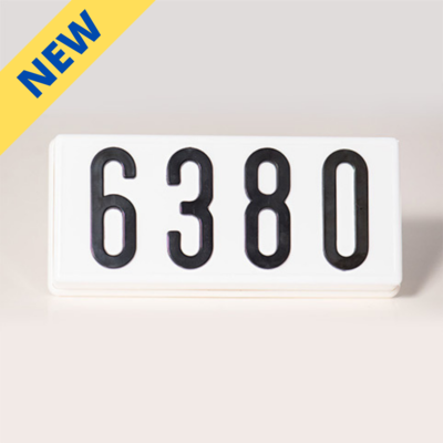 PLHN4WLED - LED Complete Address Sign - 4