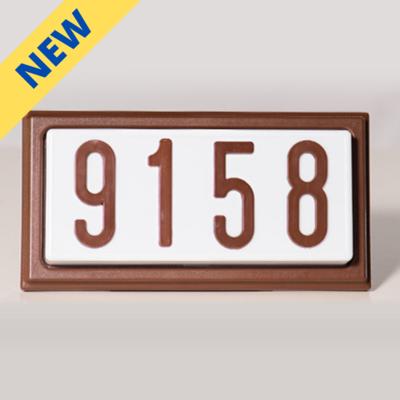 TBR4LED - LED Complete Decorative Address Sign - 4