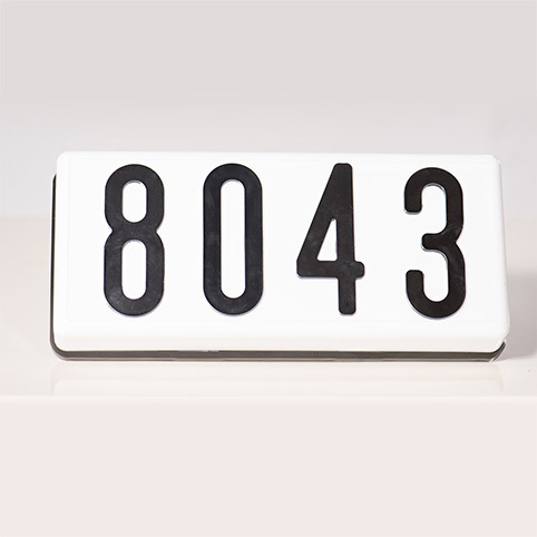 PLHN6 - Complete Address Sign - 6