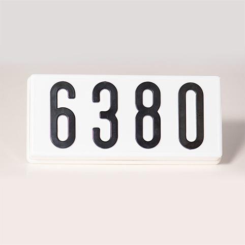 PLHN4W - Complete Address Sign - 4
