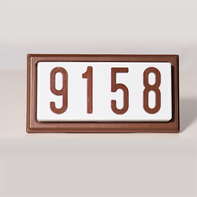 TBR4LED - LED Complete Decorative Address Sign - 4