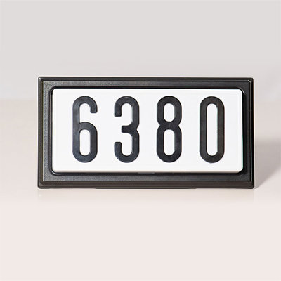 TBK4LED - LED Complete Decorative Address Sign - 4