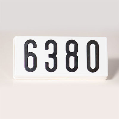 PLHN4W - Complete Address Sign - 4