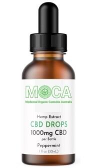 MOCA CBD Drops 1000mg